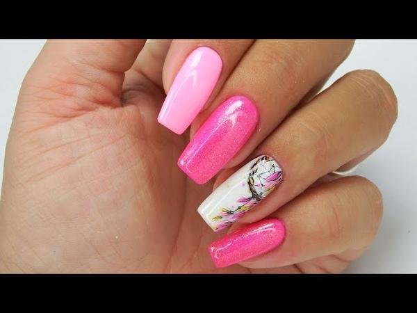 Dream catcher nails art Tutorial step by step / Charbonne dreamcatchernailsart