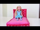 BARBİE YATAK YAPIMI/ BARBIE BED DIY