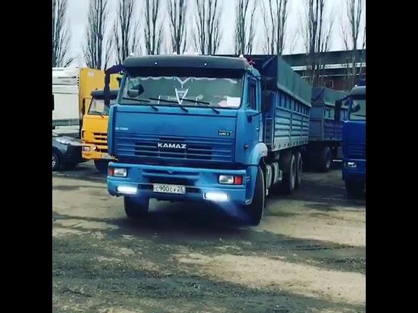 КамАЗ 65117 Зерновоз (Новоалександровск) PEREGRUZ