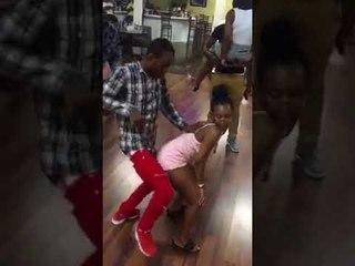 "Kompa dance"" to the next level at this Haitian party😂😂 Oh Jazz sa sanble move, gade bagay"
