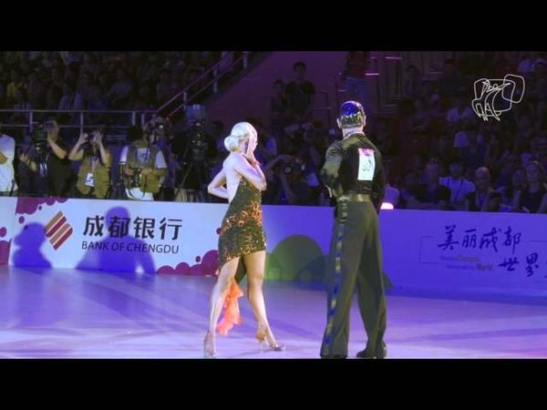 2012 GrandSlam Chengdu   The Final   Cha Cha Cha