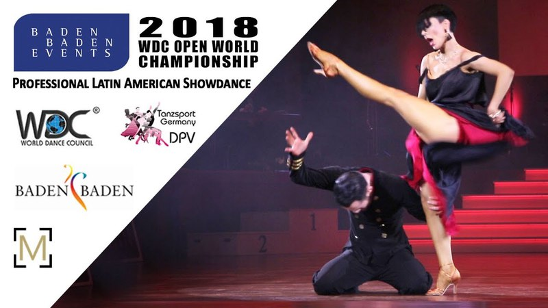 Agamalyan - Vasileva, RUS   2018 WDC Pro WCH SD LAT - Baden Baden, GER - Final