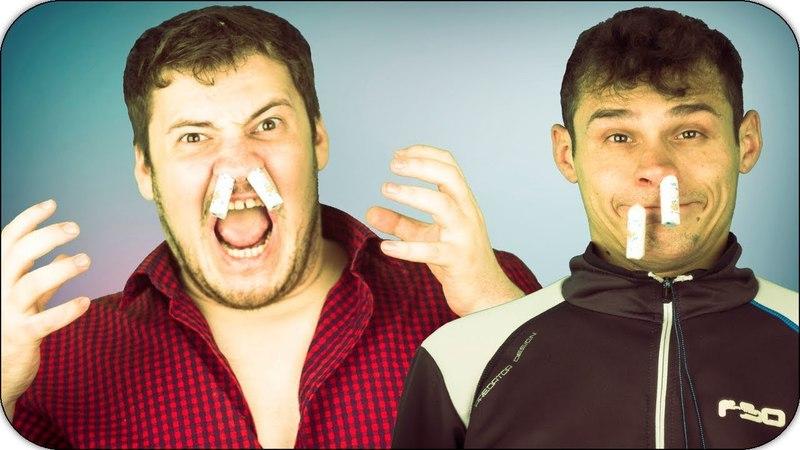 2 Дебил шоу - Тампоны с Васаби / челлендж с едой / Вызов принят