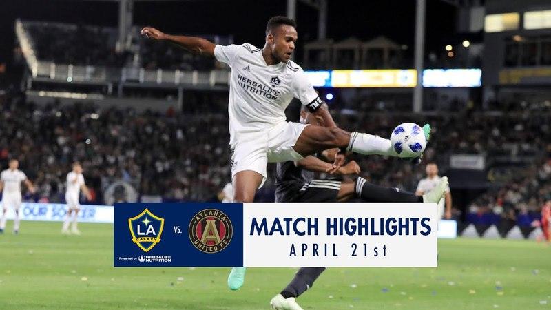 HIGHLIGHTS LA Galaxy vs. Atlanta United FC | April 21, 2018