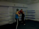 Первый раз на тренировке отправил в нокдаун опытного боксера