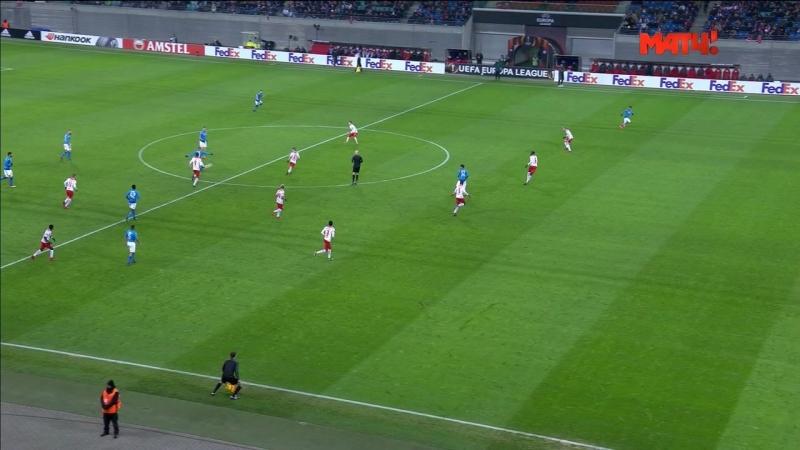 Лига Европы 2017-18   1/16 финала   Ответный матч   РБ Лейпциг – Наполи