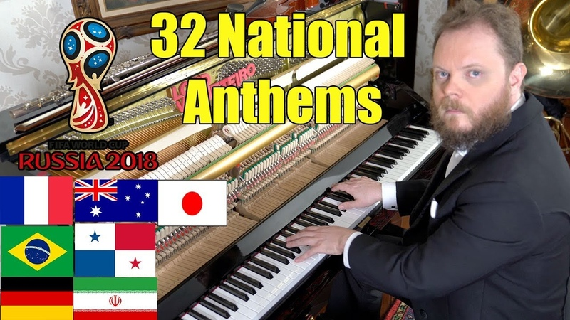 All 32 National Anthems From The World Cups Countries