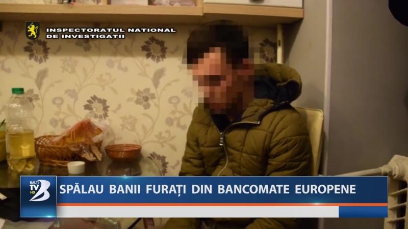 SPĂLAU BANII FURAȚI DIN BANCOMATE EUROPENE
