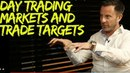 What types of markets dominate your trading now? How do you determine trade targets?
