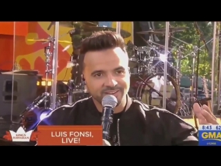 Luis Fonsi talking about Demi on Good Morning America