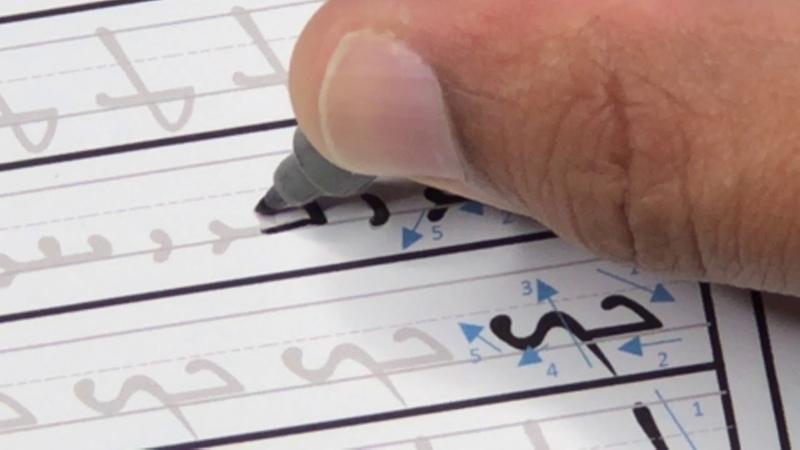 Classical Syriac Alphabet Tracing Sheets (Estrangela)