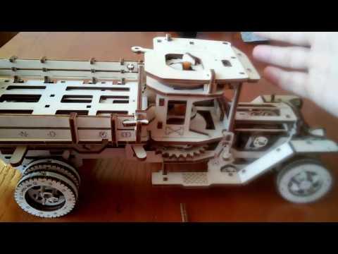 Обзор и разбор Ugears грузовик UGM - 11