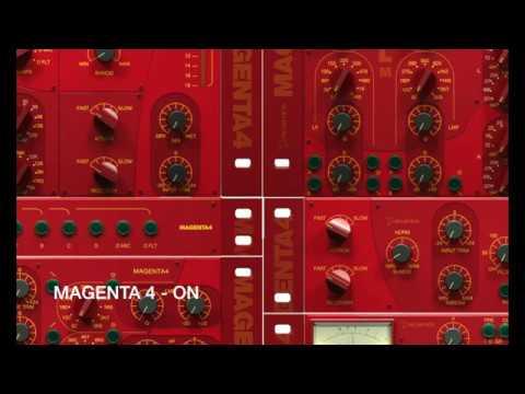 Acustica Audio MAGENTA4 - mixing a metal song (Russian lang/Русский язык)