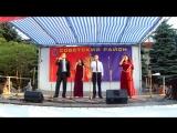 Мы-единая Россия в исполнении вокального квартета Детской школы искусств Венера Ульфанова, Эрвин Халилов, Наталья и Айдер Абтиша