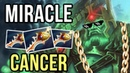 Cancer Crit Damage Wraith King with Rapier by Miracle Dota 2 WTF Gameplay Ranked