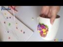 Декор кружки своими руками ❤ Мастер-класс ❤ Полимерная глина ❤ Cernit ❤