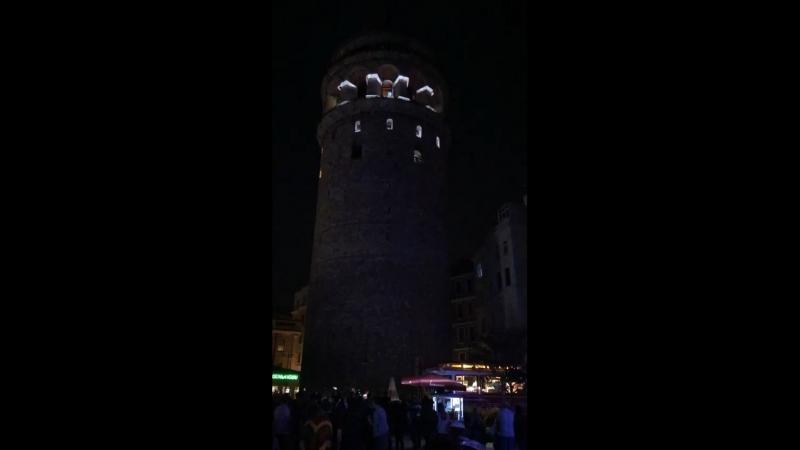 Башня в Доминикане. Световое шоу👍🏻