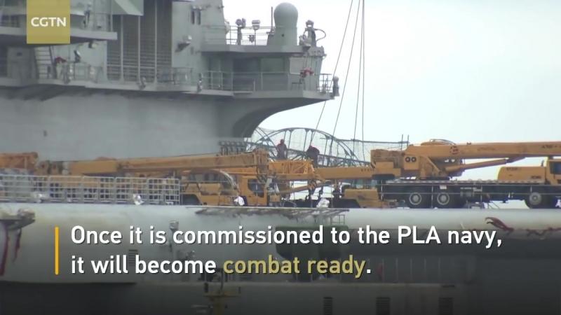 Κινεζικό αεροπλανοφόρο ναυπηγημένο εξ ολοκλήρου στην Κίνα πλέει στις θάλασσες