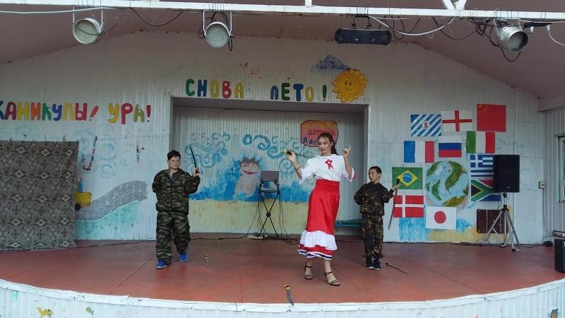 Музыкальная группа Будущее России нашего клуба, с номером Драконы в Зорьке!