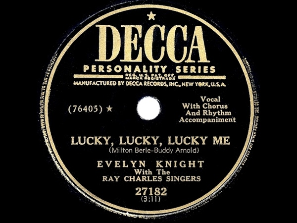 Hyundai song-1950 HITS ARCHIVE Lucky, Lucky, Lucky Me - Evelyn Knight