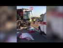 Автобус столкнулся с грузовиком под Воронежем