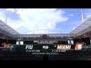 NCAAF 2018 / Week 04 / Florida Intl Golden Panthers - 21 Miami Hurricanes / 2Н / EN