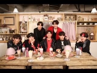RUS SUB180706 Hulu Japan 'We Love BTS' Harajuku Sweets Party