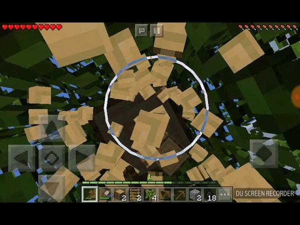 Продолжаем строить дом на дереве в Minecraft 2
