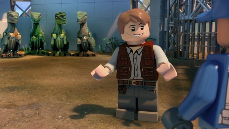 LEGO Парке юрского периода Побег Индоминуса - Трейлер