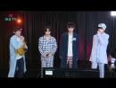 170817 Yongguk x Shihyun x JinYoung x Woodam (BTS - I Need U Karaoke Live) @ HeyoTV