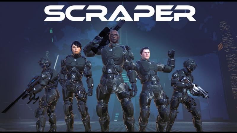 PSVR Scraper First Strike VR GAMECLUB Хабаровск