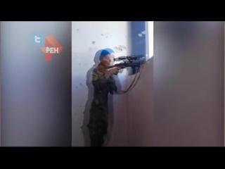 Дуэль Снайперов в Сирии