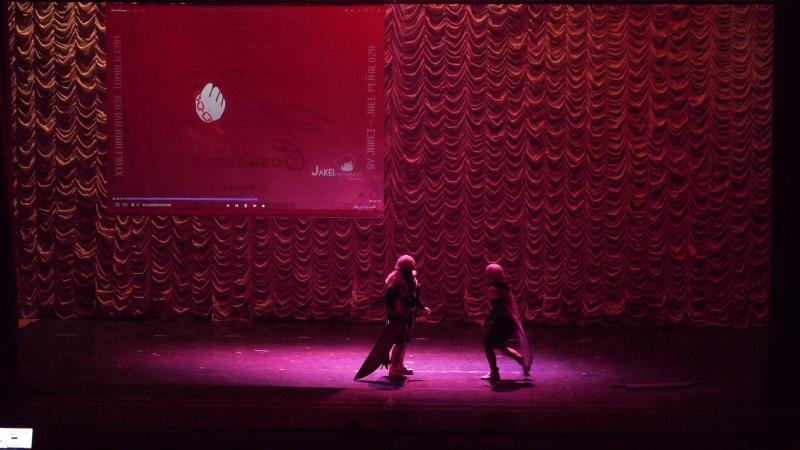 4.1.8. ВНЕКОНКУРС 9 - Косплей по неоф. артам. X-tale (Cross, Chara) - Court-on, Владивосток, Тольятти