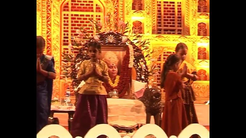2005 1224 Evening Program At Christmas Puja Pune India