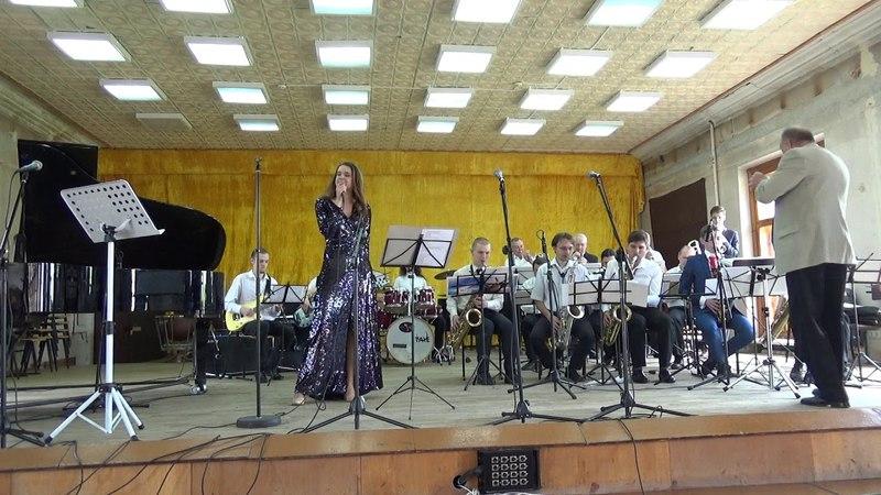 Сольный концерт М.Масловой в сопровождении биг-бэнда под упр. К.А.Полищука 6ч.
