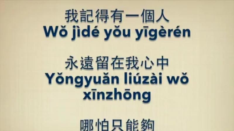 王啟文【老鼠愛大米】Mouse loves rice (KTV with Pinyin Quick Check)