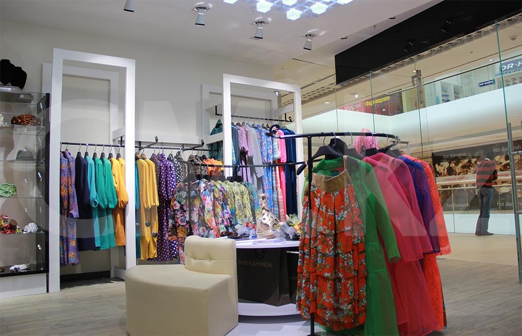 Строительство бутик одежды Алматы
