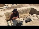 Археологические раскопки на трассе