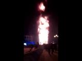 Елка горит в новосибирске как-то Вот так мы отмечали Новый год в новосибирске .2