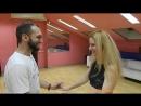 Наши способные продвинутые ученики-гордость преподавателей!Anton&Lana-Love в школе Breeze Dance.Bachata