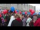 День Победы песня - площадка перед УрГЭУ-СИНХ в Екатеринбурге 9 мая 2018