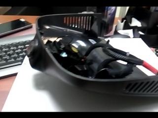 Mercedes-Benz Видео регистратор Wi-Fi с камерой HD разрешения для установки под зеркало в штатное место на авто.