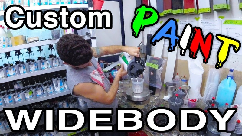Painting Parts [Will We Make It To H2Oi?? Widebody Mazdaspeed Protege5 Build]