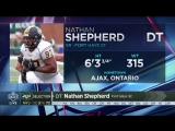 Welcome Nathan Shepherd! D-Line pride.