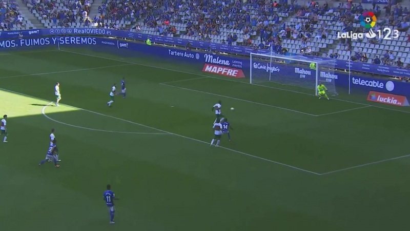 Реал Овьедо - Эльче CF, 1-1, Сегунда 2018-2019, 6 тур