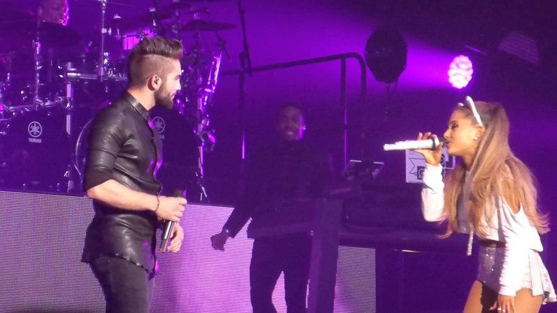Ariana Grande Kendji Girac - One Last Time - Live Zenith Paris - Honeymoon Tour 2015