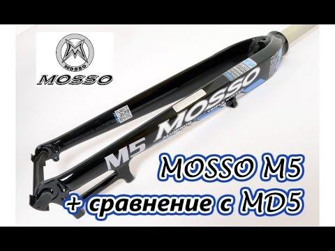 MOSSO M5 **Велосипедная вилка с AliExpress | Сравнение с MOSSO MD5
