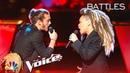 Cody Ray Raymond Battles SandyRedd to Solomon Burke's Cry to Me The Voice 2018 Battles
