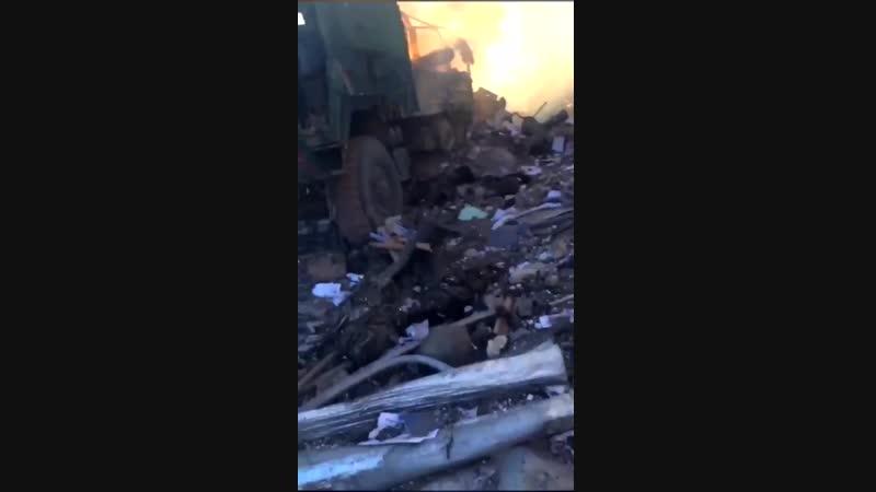 Турки после взрыва на базе
