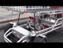 Тележка с V8 на борту